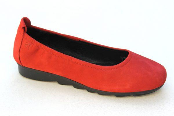 JSD004 Josef Seibel ballerina rood nubuck