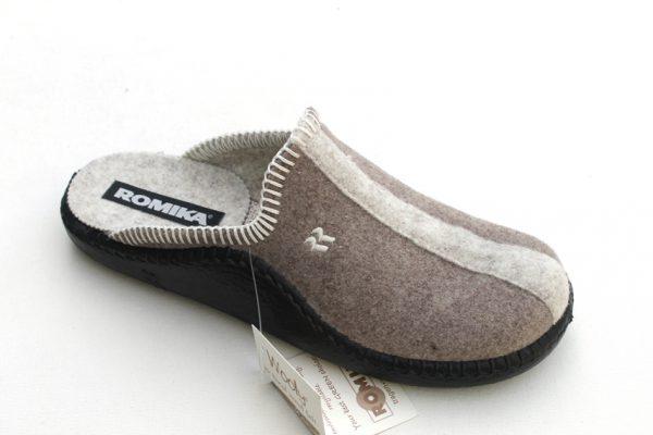 "WP005 Romika slipper ""Mokasso"" taupe/beige combi"