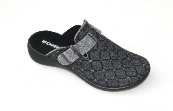 """WP019 Romika slipper """"Ibiza"""" grijs fantasiestof"""