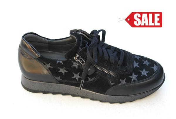 Sioux sneaker zwart