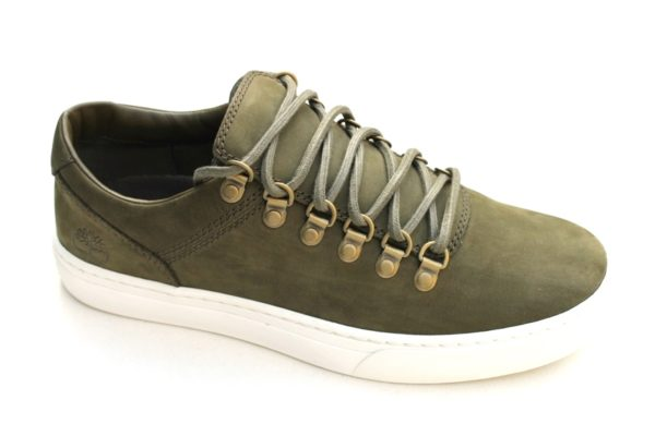 TH013Timberland Alpina Cupsole Oxford khaki nubuck