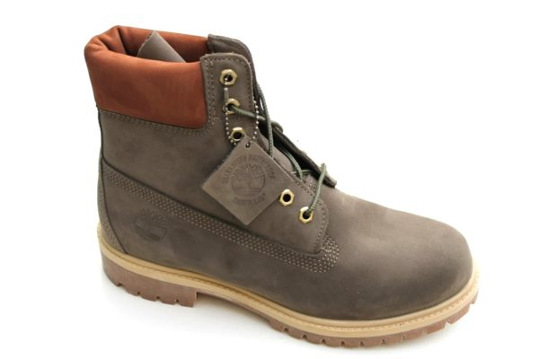 TH024 Timberland Classic boot 6 in taupe nubuck