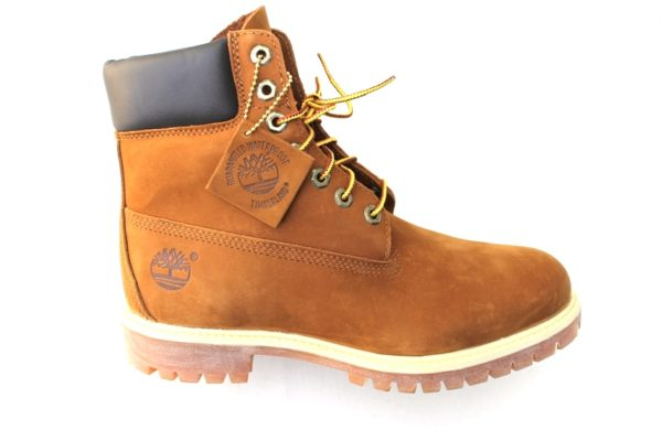 TH025 Timberland Classic boot 6 in roestbruin nubuck