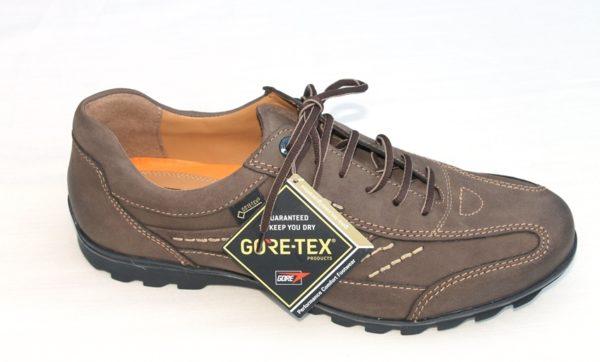 """FM003 Fretz Men sneaker veterschoen bruin nubuck met """"Goretex"""""""