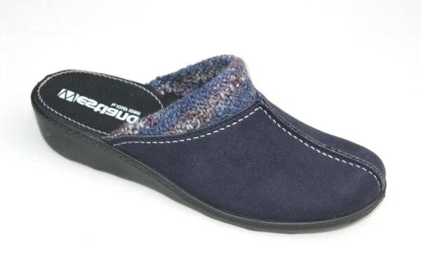 "WP017 Westland slipper ""Avignon 308"" donkerblauw alcantara"