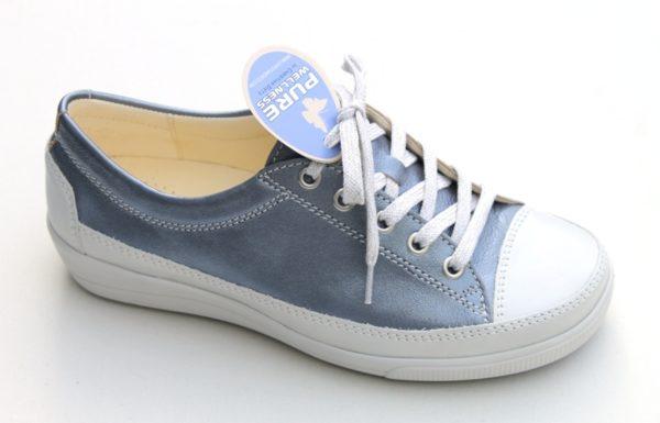 Christian Dietz pure welness veterschoen lichtblauw metallic / offwhite