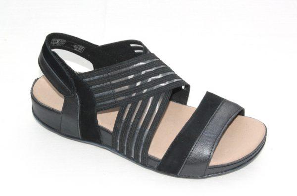 """Romika sandaal """"Fidschi"""" zwart combinatie"""