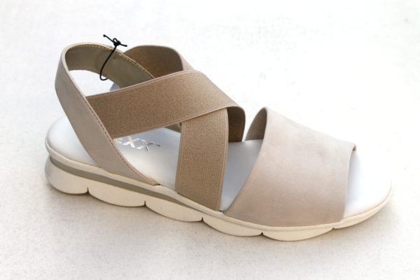 """OVD006 Dames sandaaltje van """"Flexx"""" beige nubuck"""