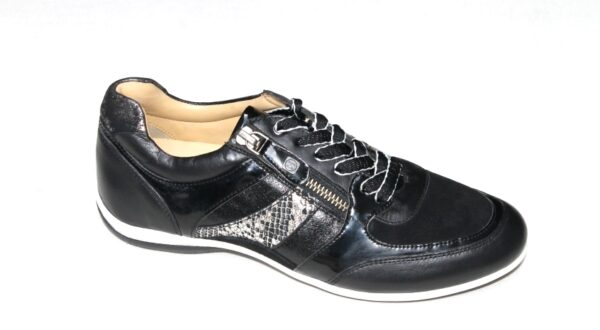 H009 Helioform sneaker zwart combi