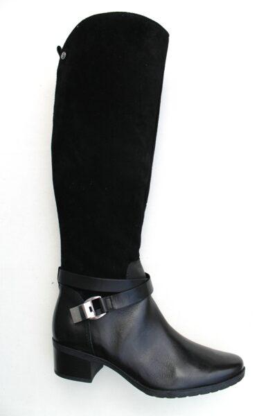 C137 Caprice knielaars zwart