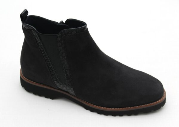 Sioux Chelsea boot donkergrijs suede Meredith 65720