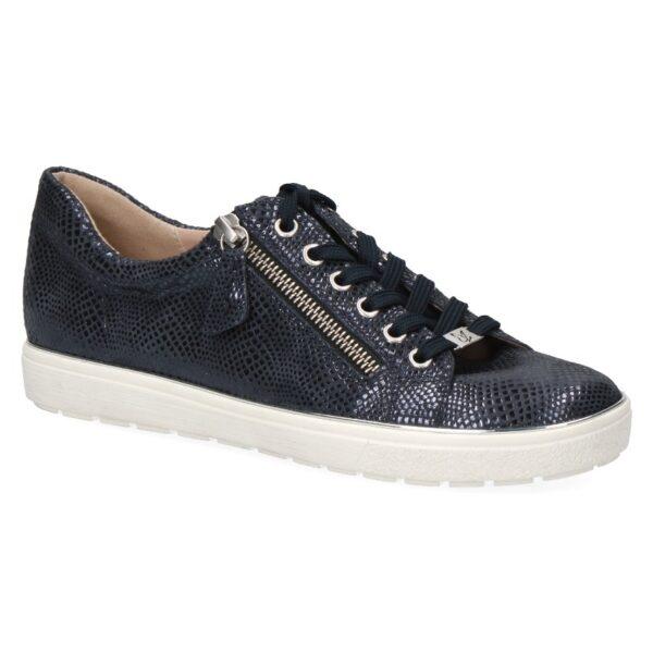 Caprice sneaker donkerblauw fantasieprint art. 23606-26-806