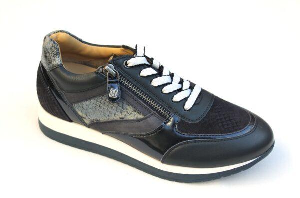 Helioform sneaker donkerblauw combi