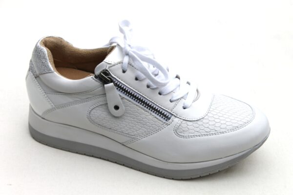 Helioform sneaker wit leer