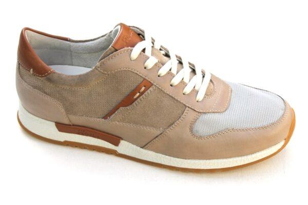 SH006 Sioux sneaker beige combinatie