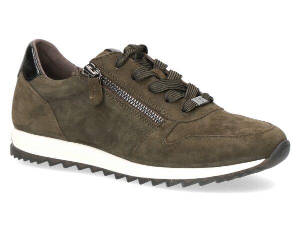 Caprice sneaker mosgroen art. 009 23601-27-733
