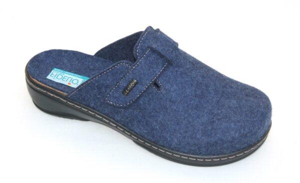 Fidelio slipper pantoffel jeansblauw